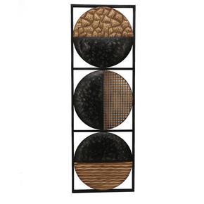 VÄGGDEKORATION - svart/guldfärgad, Lifestyle, metall (30,5/90cm) - Ambia Home