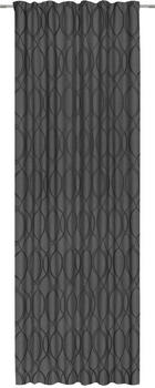 FERTIGVORHANG blickdicht - Anthrazit, KONVENTIONELL, Textil (140/300cm) - Esposa
