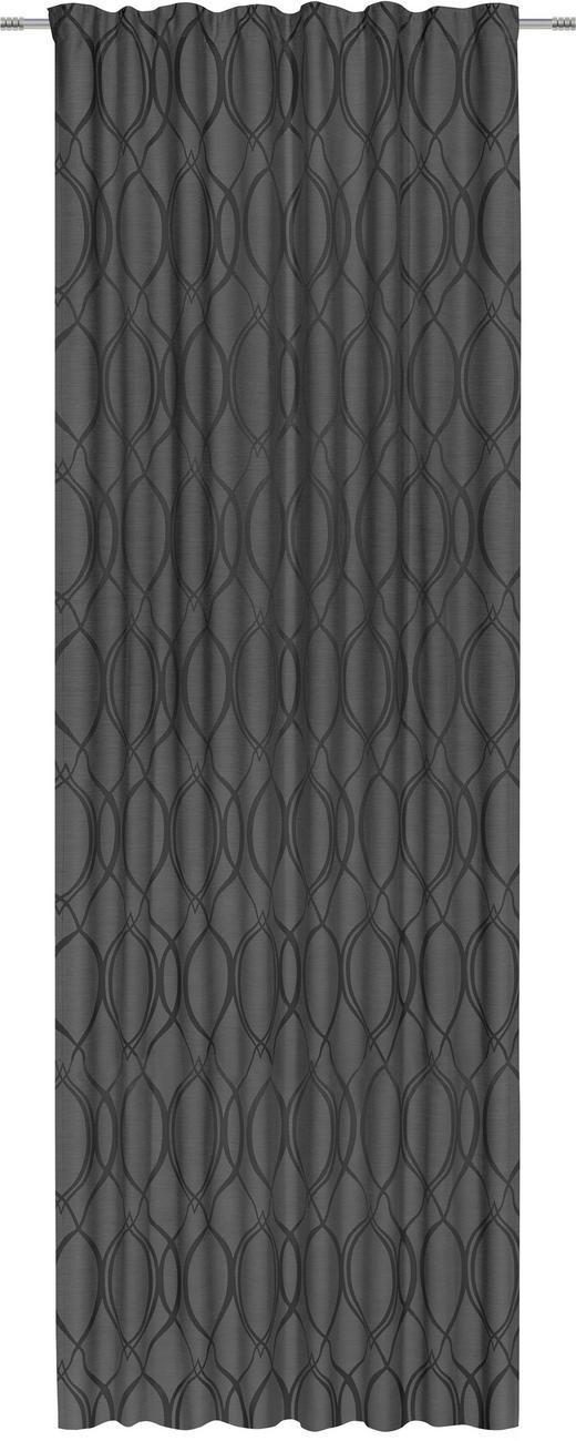 FERTIGVORHANG  blickdicht  140/300 cm - Anthrazit, KONVENTIONELL, Textil (140/300cm) - Esposa
