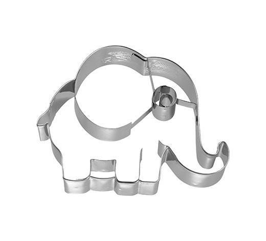 KEKSAUSSTECHFORM - Edelstahlfarben, Basics, Metall (10,5/8,5/2,5cm) - Birkmann