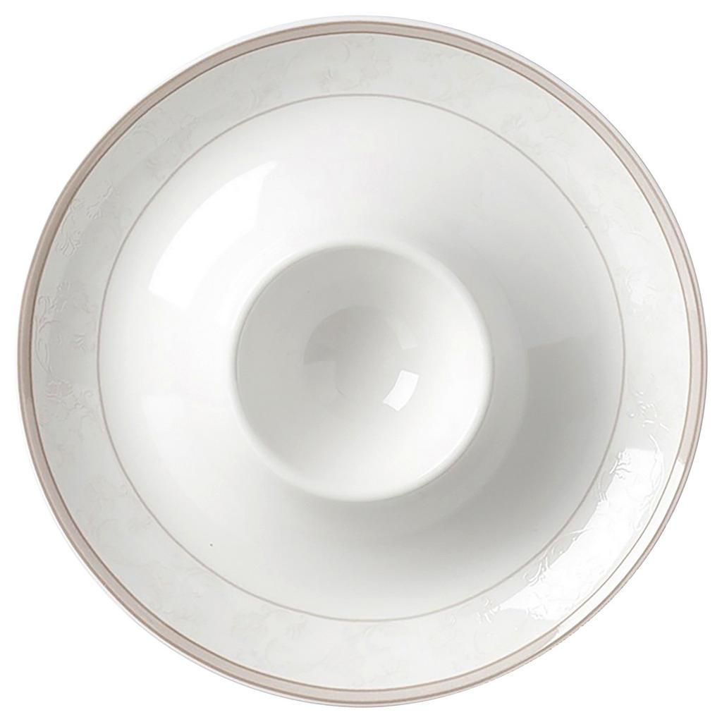 Image of Ritzenhoff Breker Eierbecher keramik , 47004 , Beige , Ornament , 2 cm , glänzend, bedruckt , 003417075214