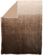 MĚKKÁ DEKA, 150/200 cm, hnědá - hnědá, Basics, textil (150/200cm) - Novel