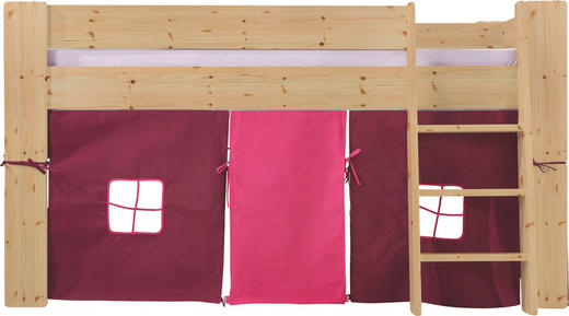 SPIELBETT Kiefer massiv 90/200 cm Kieferfarben - Kieferfarben, Design, Holz (90/200cm) - Carryhome