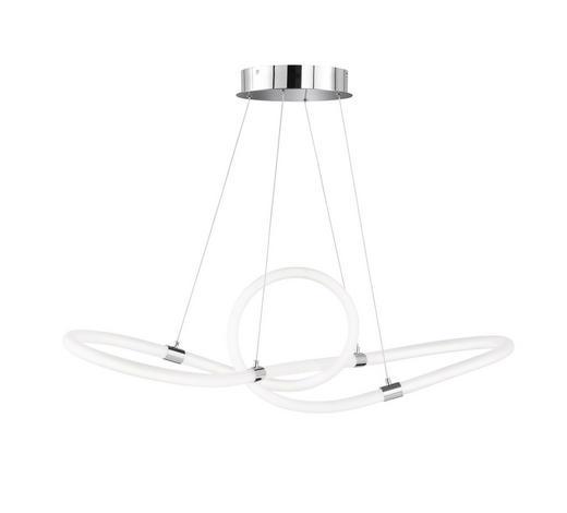 ZÁVĚSNÉ LED SVÍTIDLO - barvy chromu, Design, kov/umělá hmota (92/150/31cm) - Ambiente