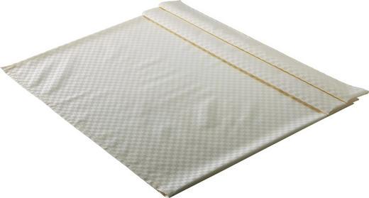 TISCHDECKE Textil Jacquard Creme 135/220 cm - Creme, Basics, Textil (135/220cm)