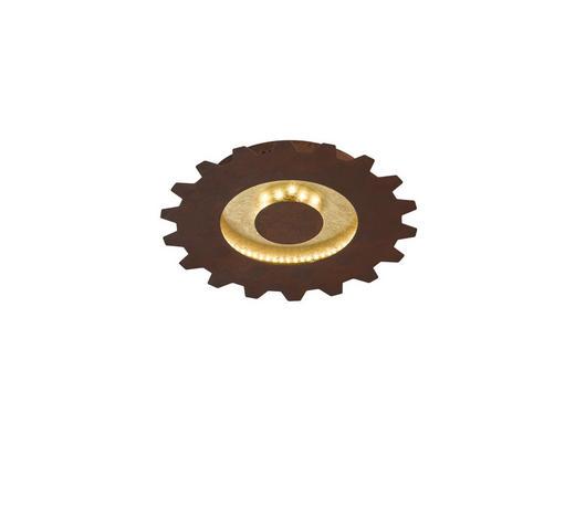 LED-DECKENLEUCHTE - Goldfarben, Trend, Metall (30/5,2cm)