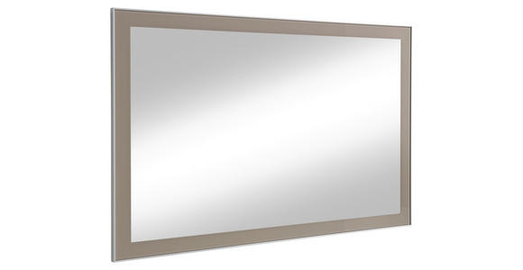 SPIEGEL - Taupe, Design, Glas (120/77cm) - Novel