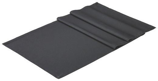 TISCHLÄUFER Textil Schwarz 50/150 cm - Schwarz, Basics, Textil (50/150cm)