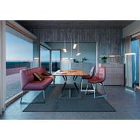 LED-TISCHLEUCHTE - Chromfarben, Design, Kunststoff/Metall (51/12/36,5cm) - Joop!