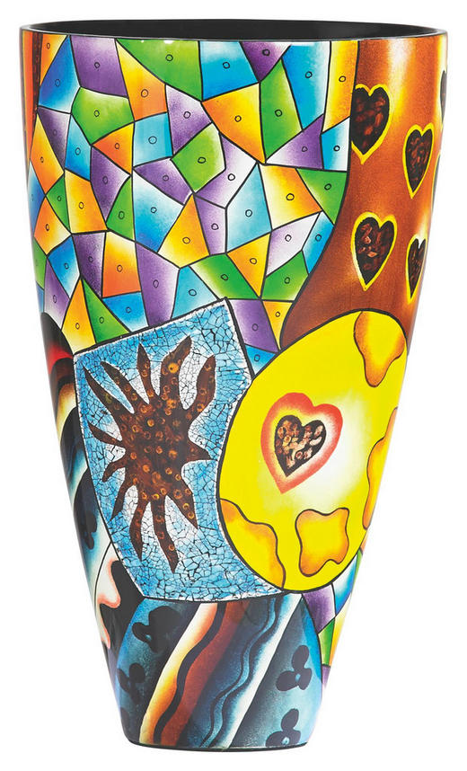 VASE - Multicolor, Design (24/40cm) - NOVEL