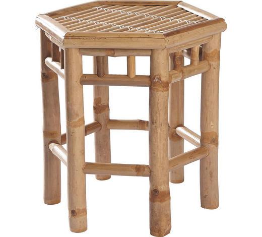 STOLEK KVĚTINOVÝ, bambus, přírodní barvy - přírodní barvy, Lifestyle, dřevo/umělá hmota (38/37cm) - Landscape