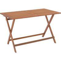 VRTNI SKLOPIVI STOL - smeđa, Lifestyle, drvo (120/70/74cm) - Ambia Garden