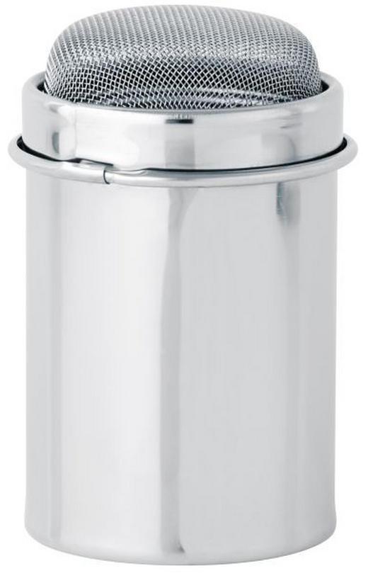 ZUCKERSTREUER Metall - Silberfarben, Basics, Metall (9/6/6cm) - Dr.Oetker