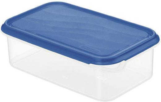 FRISCHHALTEDOSE 1,5 L - Blau/Naturfarben, Basics, Kunststoff (24/16/7,5cm)