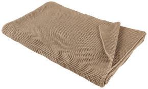 PLÄD - mullvadsfärgad/gråbrun, Klassisk, textil (150/200cm) - Novel