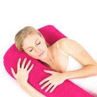 Aufblasbares Seitenschläferk.  120/16 cm - Pink, Kunststoff/Textil (120/16cm) - Sleeptex