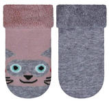 SOCKEN - Rosa/Grau, Basics, Textil (23/24null) - My Baby Lou