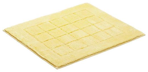 BADEMATTE in Gelb 55/65/ cm - Gelb, Basics, Kunststoff/Weitere Naturmaterialien (55/65/cm) - Vossen