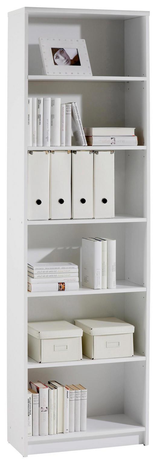 REGAL in 60/202/28 cm Weiß - Weiß, KONVENTIONELL, Holzwerkstoff (60/202/28cm) - Carryhome
