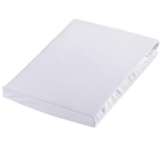 SPANNLEINTUCH 100/200 cm - Weiß, Basics, Textil (100/200cm) - Novel