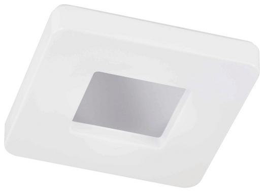 LED-DECKENLEUCHTE - Alufarben/Weiß, Design, Kunststoff (37/37cm)