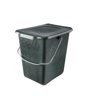 KOMPOSTHINK - grön, Klassisk, plast (21/25/26cm) - Rotho