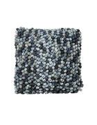ZIERKISSEN - Blau, Design, Textil (50/50cm)