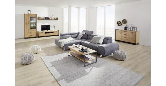 TV-ELEMENT 187/51/41 cm  - Eiche Artisan/Grau, Design, Holzwerkstoff/Kunststoff (187/51/41cm) - Hom`in
