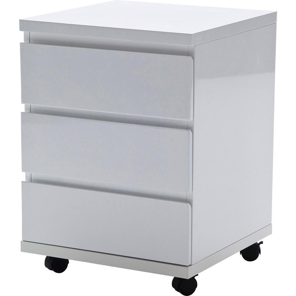 Entzückend Rollcontainer Kunststoff Ideen Von Carryhome Weiß
