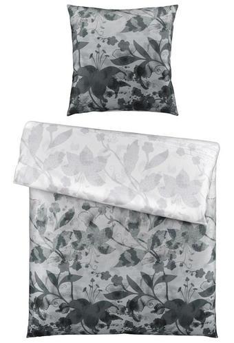 BETTWÄSCHE Satin Grau 135/200 cm - Grau, KONVENTIONELL, Textil (135/200cm) - ESPOSA