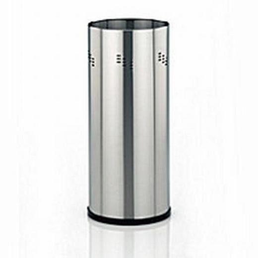 SCHIRMSTÄNDER Metall Edelstahlfarben - Edelstahlfarben, Basics, Metall (21/50cm)