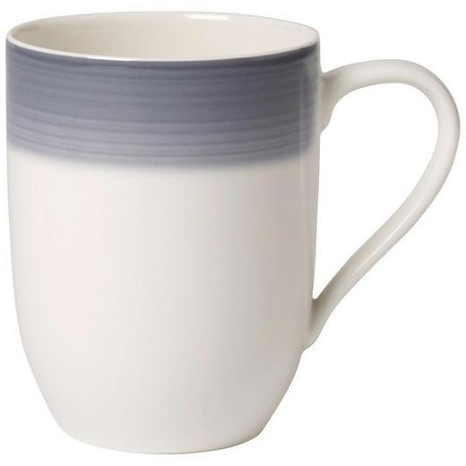 KAFFEEBECHER 340 ml - Creme/Grau, KONVENTIONELL, Keramik (0,34l) - Villeroy & Boch