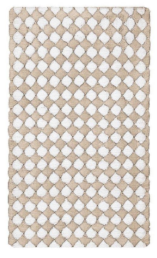 KUPAONSKI TEPIH - bež, Basics, tekstil/plastika (60/2/100cm) - Kleine Wolke