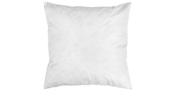Füllkissen Friede ca. 40/40cm - Weiß, KONVENTIONELL, Naturmaterialien/Textil (40/40cm) - Primatex