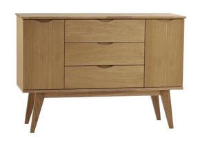 SIDEBOARD - ekfärgad, Klassisk, trä (122/85/40cm) - Rowico