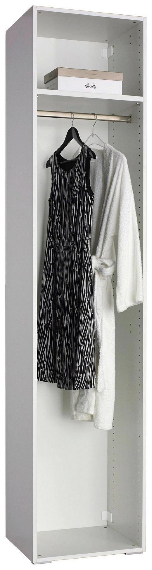 KLEIDERSCHRANKKORPUS 51/231/41 cm - Weiß, Design (51/231/41cm) - Carryhome