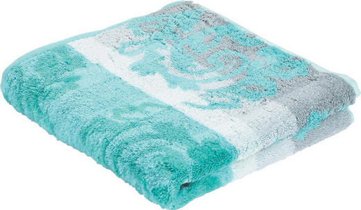 HANDTUCH 50/100 cm - Mintgrün, Basics, Textil (50/100cm) - Cawoe