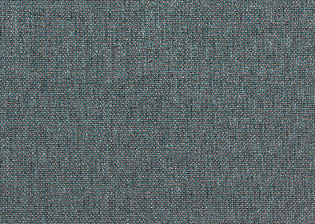 WOHNLANDSCHAFT - Chromfarben/Petrol, KONVENTIONELL, Textil/Metall (236/84/100 (183)cm)