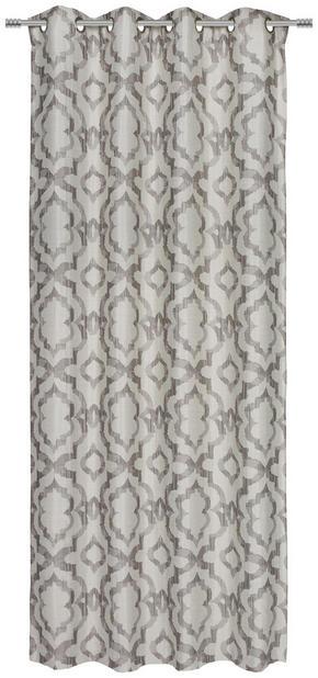 ÖLJETTLÄNGD - mullvadsfärgad/gråbrun, Klassisk, textil (135/245cm) - Esposa