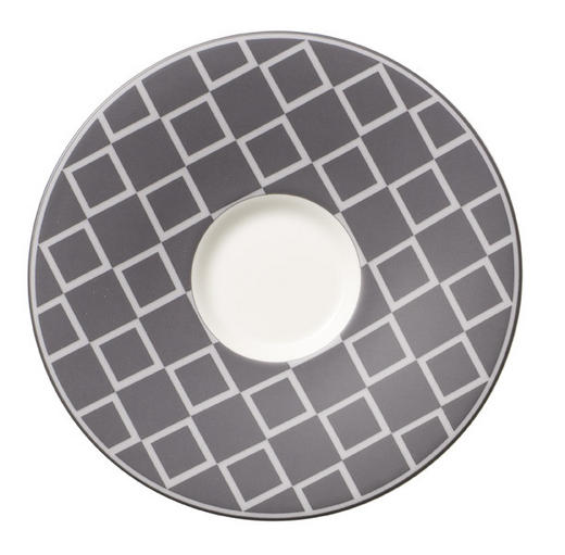 UNTERTASSE - Grau, Basics, Keramik (14  cm) - Villeroy & Boch