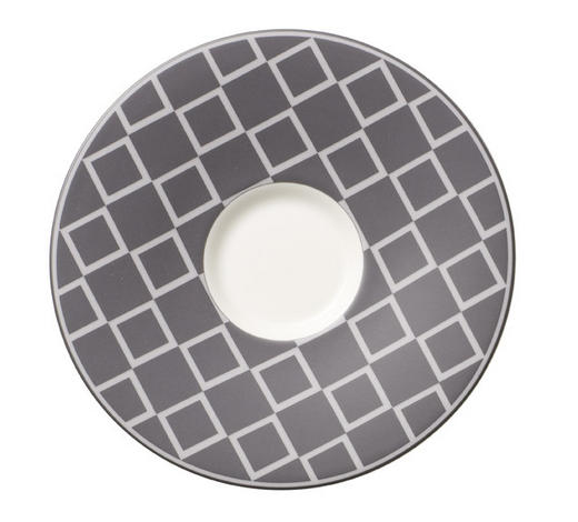 UNTERTASSE - Grau, Basics, Keramik (14cm) - Villeroy & Boch