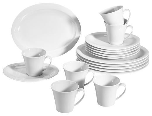 Porzellan  KAFFEESERVICE 18-teilig - Weiß, Basics (32/21/31cm) - Seltmann Weiden