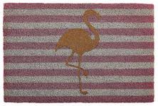 FUßMATTE 40/60 cm Flamingo Creme, Rosa - Creme/Rosa, Trend, Kunststoff/Weitere Naturmaterialien (40/60cm) - Esposa