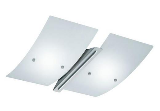 DECKENLEUCHTE - KONVENTIONELL, Metall (56/52/9,5cm)