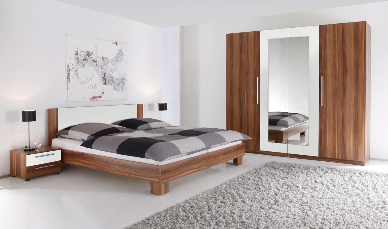 SPAVAĆA SOBA - bijela/boje oraha, Design, drvni materijal (228/200/213/62/180cm) - BOXXX