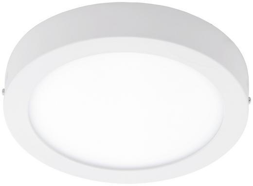 LED-DECKENLEUCHTE - Weiß, Design, Kunststoff/Metall (22,5/3,5cm)