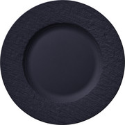 SPEISETELLER Keramik Porzellan  - Schwarz, Design, Keramik (27cm) - Villeroy & Boch