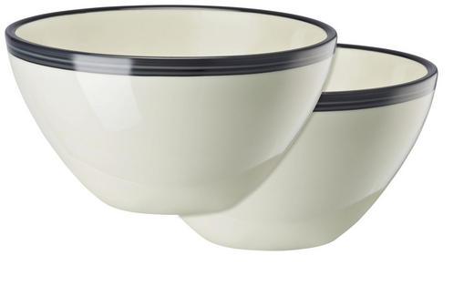 SCHÜSSEL Keramik Porzellan 2-teilig - Blau, Basics, Keramik (0,85l)