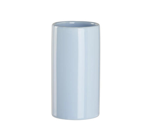 MUNDSPÜLBECHER Keramik  - Hellblau, Basics, Keramik (6,5/12,4cm) - Sadena