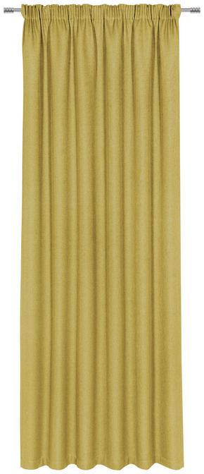GARDINLÄNGD - gul, Klassisk, textil (140/300cm) - Esposa